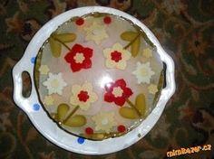 můj první pokus a nebude asi poslední :-) aspikový dort mě moc bavil :-) inspirovala jsem se tady na... Pudding, Desserts, Tailgate Desserts, Deserts, Custard Pudding, Puddings, Postres, Dessert, Avocado Pudding