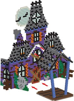 Do it yourself also known as DIY is the method of building modifying or repairing something without the aid of experts or professionals Hama Beads Halloween, Halloween Crafts, Halloween Parties, Pearler Bead Patterns, Perler Patterns, Motifs Perler, 3d Perler Bead, Beading For Kids, Peler Beads