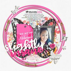 #momlife|Mini Theme by Mommyish     http://the-lilypad.com/store/MomLife-Mini-Theme.html     Spring Cut Outs by Scrapping with Liz