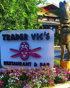 Trader Vic's Restaurant - Palo Alto, California