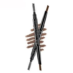 Bodermincer Doublehead Automatic 3 Color Waterproof Eyebrow Pencil With Brush 3dark brown ** You can get more details by clicking on the image.
