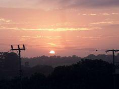 Sunrise in Monkey Town, Bathurst African Image, Monkey, Sunrise, Celestial, Outdoor, Outdoors, Jumpsuit, Monkeys, Outdoor Games