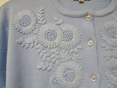 Items similar to Specialty House Fashion . size 42 on Etsy Diy Bead Embroidery, Hand Embroidery Dress, Kurti Embroidery Design, Embroidered Lace Fabric, Embroidery Neck Designs, Floral Embroidery Patterns, Hand Embroidery Videos, Embroidery On Clothes, Embroidery Suits