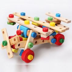 wooden disassembly and assembly Kids Educational Toys learning and education multi-purpose nut combinations Children Toys