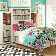 I love the Beadboard Super Set on pbteen.com I so want  this bed with all the storage and it comes in queen.