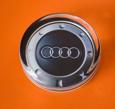 Lovely Solid Glass AUdi Paperweight by WeeHings on Etsy