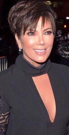 Hair Short Haircuts Kris Jenner Ideas Hair Short Haircuts Kris Jenner Ideas Related Top Short Hairstyles for WomenTwo tone back undercut short hairstyle hairstyles 2019 female over 50 fine hair Short Sassy Haircuts, Short Hairstyles For Thick Hair, Short Hair Cuts For Women, Cool Hairstyles, Short Hair Styles, Hairstyle Images, Cabelo Kris Jenner, Chris Jenner Haircut, Haircut Pictures