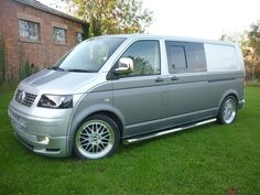 Image result for two tone vw t5 camper