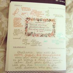 #shereadstruth #weeklytruth #versemapping