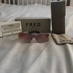 Fred Accessories - Fred Pearls pink and gold sunglasses. lpjf · Lunettes d212321cf95d