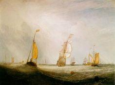thomas moran watercolor | Misty Morning, Appaquogue painting, a Thomas Moran paintings ...
