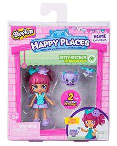 Happy Places Shopkins Season 2 Doll Single Pack Tippy Tea...