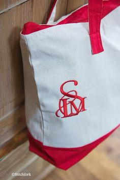 Stitchfork Designs: rules of monogramming...