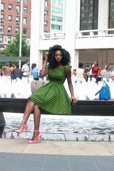 Get Gorgeous with Trend Setting Ankara Styles - Wedding Digest Naija African Fashion Ankara, African Print Dresses, African Dresses For Women, African Print Fashion, African Wear, African Attire, African Women, African Prints, African Street Style