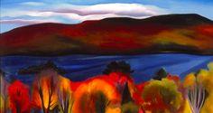 Georgia O'Keeffe (American, 1887–1986) Lake George Autumn, 1927