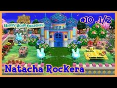 Animal Crossing Happy Home Designer #10 - Natacha Rockera parte 1/2