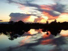 Pantanal sunset by Eivind Fonn, via Flickr