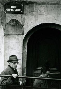 William Burroughs in Paris, October 1959, by Brion Gysin. Clique na foto para garantir livros da Beat Generation.