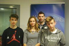 Mali radio: Dominik Gönc je v oddajo povabil plesalce plesne šole Zeko.