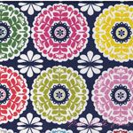 Maude Asbury Gabbie Kaleidoscope Navy [BF-101-105-04-1] - $10.90 : Pink Chalk Fabrics is your online source for modern quilting cottons and sewing patterns., Cloth, Pattern + Tool for Modern Sewists