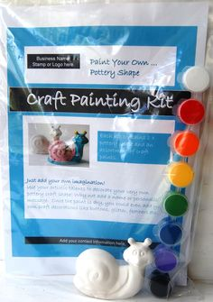 Paint Your Own Pottery Date    Pottery   Pinterest   Paintings     Pinterest Make your own craft kit to sell using our range of low cost pottery animal