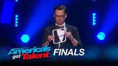 Derek Hughes: Comedic Magician Takes Risks - America's Got Talent 2015 Magic Tricks Revealed, Take Risks, America's Got Talent, The Magicians, Concert, Music, Youtube, Places, Musica