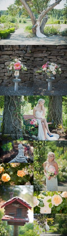 styled garden wedding HCP Vancouver Island Weddings by Vivian Kereki Photography