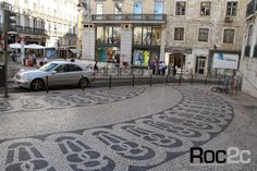 Chiado Baixa Lisboa pedras portuguesas