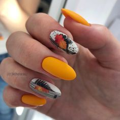 Fancy Nail Art, Fancy Nails, Trendy Nails, Pink Nails, Gelish Nails, Nail Manicure, Sunflower Nail Art, Super Cute Nails, Autumn Nails