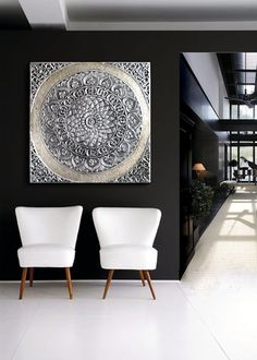 Aluminum Foil Art, Rideaux Design, Pewter Art, Stencil Decor, Inside A House, Moroccan Design, Deco Design, Home Decor Bedroom, Decoration