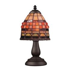 ELK Lighting 080-TB-10 Mix-N-Match 1 Light Table Lamp In Classic Bronze