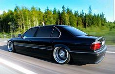 BMW E38 Black iL
