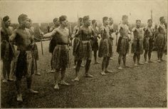 New Zealand Pioneer Battalion. Maoris fought in Gallipoli and France. Doing the Haka dance before entering battle.