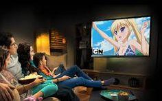 Resultado de imagen para anime viendo tv