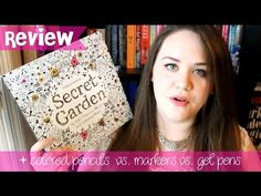 Adult Coloring Book Review & What I Color With - Secret Garden by Johanna Basford - YouTube