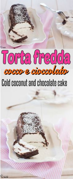 Torta fredda cocco e cioccolato, torta fredda al cioccolato, torta fredda vegana, torta vegana veloce, torta vegana al cocco, torta vegana al cioccolato, Torta senza cottura, torta senza lattosio, torta senza glutine, torta estiva, Cold coconut and chocolate cake, cold chocolate cake, vegan cold cake, fast vegan cake, vegan coconut cake, vegan chocolate cake, cake without baking, lactose-free cake, gluten-free cake, summer cake #cucina #ricette #recipes