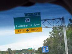Lombardi Avenue Exit