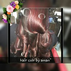 """Rubi red 667""""hair colr by aman from spain.."""