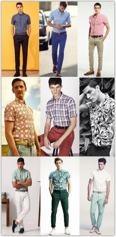 Men's Fashion - Summer Style Dos  Don'ts: Short-Sleeved Shirts
