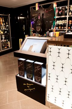 Point-of-Sale Displays, made by Berry Place on behalf of Chic Agency. As seen in Harrods.