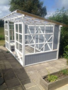 Billedresultat for drivhus dba Lean To Greenhouse, Backyard Greenhouse, Greenhouse Plans, Backyard Patio, Backyard Landscaping, Garden Buildings, Garden Structures, Backyard Projects, Outdoor Projects