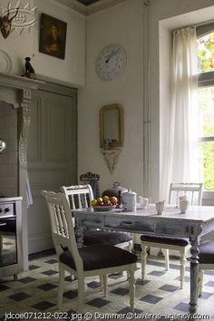 Victorian kitchens were equipped with space for a work table, and a cook stove. And....sometimes that was it! Renovating an old Victorian home's kitchen can be a challenge! I have seen some kitchens that were a 8'x8'space with nothing but a built-in Hoosier.