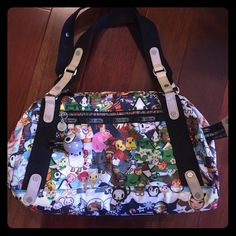 9456f1d3f9 Tokidoki for LeSportsac Cute and colorful bag for the gym or beach!  Spacious enough to