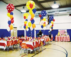 Circus Centerpiece Ideas | Carnival of Dreams {Circus Party Ideas} // Hostess with the Mostess®