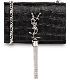 SAINT LAURENT Umhängetasche INTERLOCKING mit Tassel