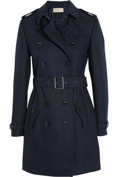 Burberry Brit | Cotton-blend twill trench coat | NET-A-PORTER.COM