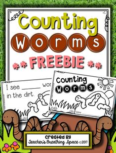 Let& celebrate the season with a FREEBIE! This adorable little Counting Worms Book gives your kiddos a fun opportunity to practice counting and writing the numbers up to How fun! If you love this little FREEBIE, your Numbers Preschool, Free Preschool, Preschool Themes, Preschool Science, Preschool Classroom, Dinosaurs Preschool, Primary Classroom, Counting Books, Counting Activities