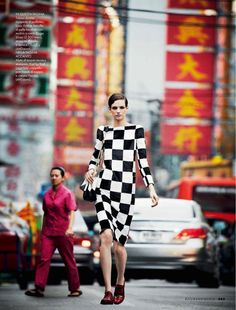 """Geo Locator"" - Elle Italia May 2013. Photography: Michael Sanders / Stylist: Micaela Sessa"