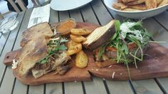 Sandwich plate at Mundoaka #streetfood #visit #croatia #traditional #food #cuisine  #regions #delicacy #homegrown #wine