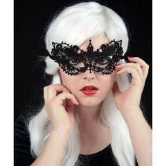 Masque Loup Gothique Burlesque Victorien Dentelle